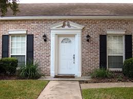red front door white house. White House Front Door Color For Brick Red S