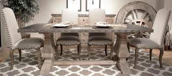 Top Rustic Gray Dining Room Table With Rustic Slate Gray The - Dining room tables rustic style