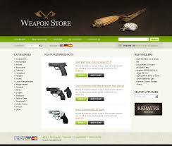 Winchester Website Design Website Design 22631 Weapon Store Shop Custom Website