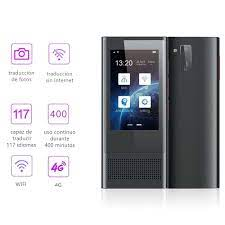 Eşzamanlı sesli çevirmen AI 117 dil 8MP kamera fotoğraf gerçek zamanlı  çeviri 3.1 ''IPS ekran akıllı Wifi çevirmen Translator