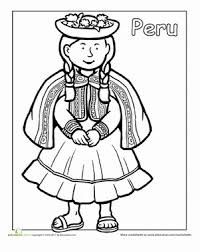 Hispanic Heritage Coloring Pages Hispanic Heritage Month First Grade People Community