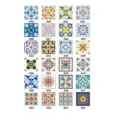 3D <b>European</b> Retro <b>Pattern Tile Wall</b> Sticker Kitchen <b>Bathroom</b> ...