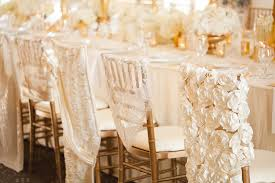 hendrickson furniture. glamorous ivory and gold wedding details hendrickson furniture