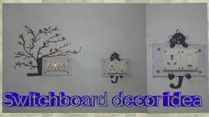 Switchboard Wall Painting Designs Diy Switch Board Decoration Idea Wall Art
