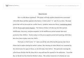 child called it a level sociology marked by teachers com document image preview