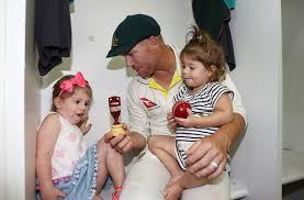 David Warner, Ivy Warner, Indi Warner - Ivy Warner Photos - Australia v  England - Third Test: Day 5 - Zimbio