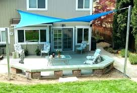 sun shade ideas for decks sunshades patio shades motorized patio sun shade ideas a21 ideas