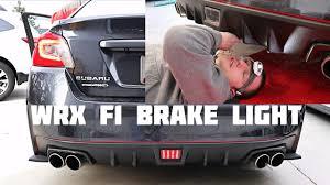 3rd Brake Light Wrx 2015 Wrx 3rd Brake Light Install