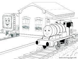 Thomas Train Coloring Pages Train Coloring Pages The Train Colouring