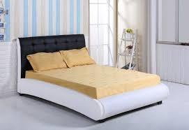 designer beds and furniture. King Size Faux Leather Black \u0026 White Designer Bed Frame - Bedroom Furniture Sale Beds And F