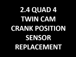 2 4 quad 4 twin cam crank position sensor replacement 2 4 quad 4 twin cam crank position sensor replacement
