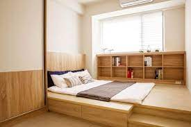 Desain tempat tidur ala jepang language:id. 10 Desain Kamar Tidur Sederhana Ala Jepang Mudah Banget Ditiru Rumah123 Com