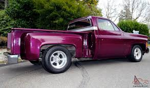 Stepside Custom CHOP TOP Low Rider Shortbox Shaved Pickup X-Show ...