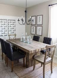 modern farmhouse dining room diy shiplap