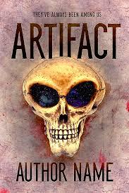 premade alien sci fi book cover