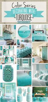 Color Series; Decorating with Turquoise. Turquoise, teal, aqua, blue green  home