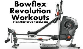 Bowflex Exercise Wall Chart Bowflex Revolution Xp Workouts December 2019 Pdf Update