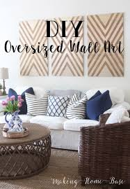 giant wall art diy