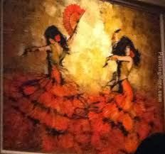 flamenco dancers painting unknown artist flamenco dancers art painting