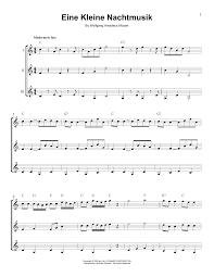 Eine Kleine Nachtmusik Noten | Wolfgang Amadeus Mozart