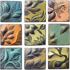 wall art ideas design perfect combination ceramic tile wall art stunning flower wonderful decoration handmade premium material high quality facinating
