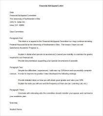 19 appeal letter templates pdf doc