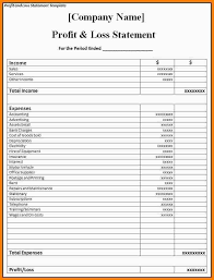 restaurant p l restaurant pl statement template restaurant monthly profit and