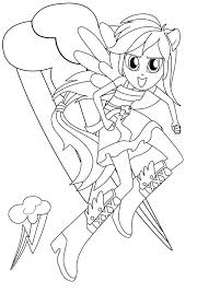 equestria girls rainbow dash coloring pages my little pony equestria girls coloring page sky