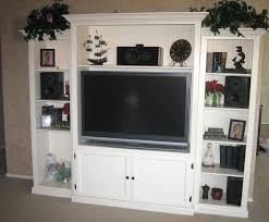 custom built diy entertainment center