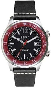 CCCP Black Sea Automatic Silver Black: Watches - Amazon.com