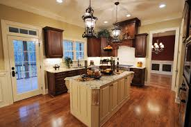 kitchen with cherry wood floors what color wood floors go with dark cherry cabinets wood