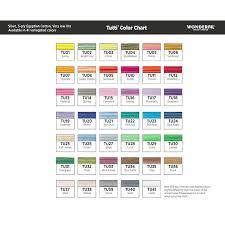 Wonderfil Thread Charts Wonderfil Tutti Tu31 Evergreen Thread 1000m 50wt