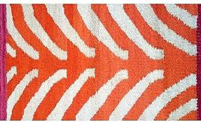 orange and white rug designs by cm from in design rugby stripe bedding striped chevron orange and white rug