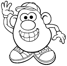 Small Picture mr potato head coloring page for introduction to the counselor