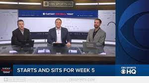 CBS Local Sports - Fantasy Football Week 5 Start And Sit