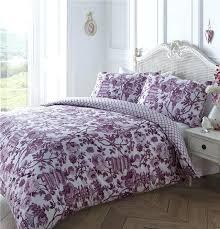 purple and white duvet bedding pink white duvet cover set pattern print quilt set purple single