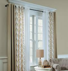 grommet curtains a grommet curtain is one continuous panel with eyelets cut out across the top of the panel the eyelets are reinforced either with metal