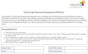 Development Plan Template For Employees – Buildingcontractor.co