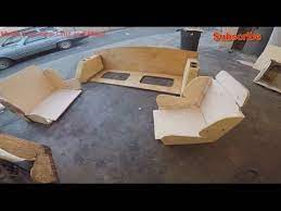 making custom boat seat from scratch