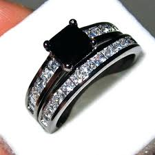 Image result for latest wedding rings 2017 black diamond