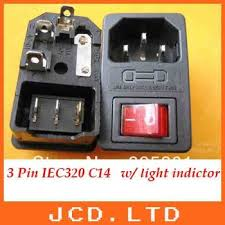 cheap red rocker switch red rocker switch deals on line at get quotations · 10pcs iec 320 c14 red light rocker switch fuse inlet male power supply connector plug