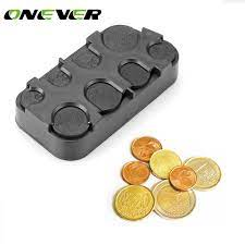 Auto Coin Holder Storage Box Car Euro Coin Case Money Container Organizer  Car styling for Euro Coins|box car|auto coin holdercar storage box -  AliExpress
