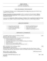 Resume Template Resume Sample Of Civil Engineer Free Career
