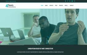 Consultancy Template Free Download Best Free Consulting Website Template Webthemez
