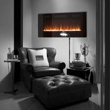 paramount premium 42 slim wall mount electric fireplace