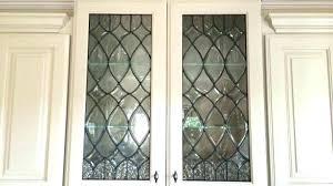 decorative cabinet glass glass