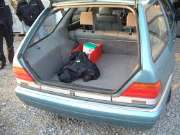 Custom S-Class Estate - Wagon, W140 chassis. Rear open hatch ...