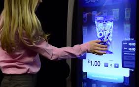 Diji Touch Vending Machine Awesome A Totally Digital Vending Machine Retail Innovation