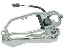 51218243616oe genuine bmw door handle exterior carrier front right