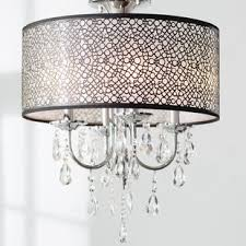 unique chandelier lighting. Brownleigh 4-Light Drum Chandelier Unique Lighting